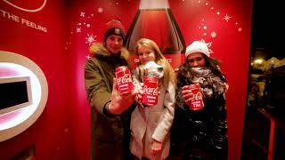 Świąteczna ciężarówka Coca-Cola w Chojnicach   #Dziekuje