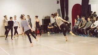 Группа Contemporary dance преподаватель Ирина Плотникова
