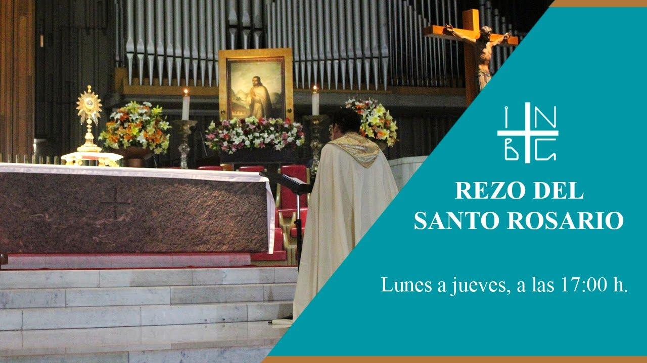 Rezo del Santo Rosario, 2 de julio de 2020, 17:00 h.