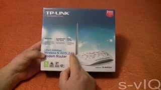 Обзор распаковка Модем роутер TP LINK TD W8151N ADSL2+