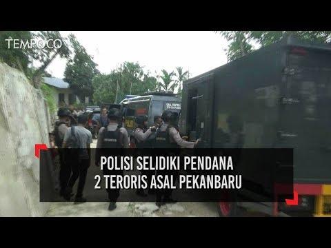 Polda Riau Selidiki Pendana Teroris Asal Pekanbaru yang Ditangkap di Palembang