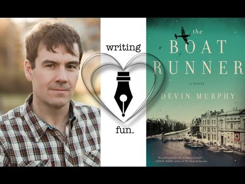 Writing Fun | Ep. 145 : The Boat Runner with Devin Murphy
