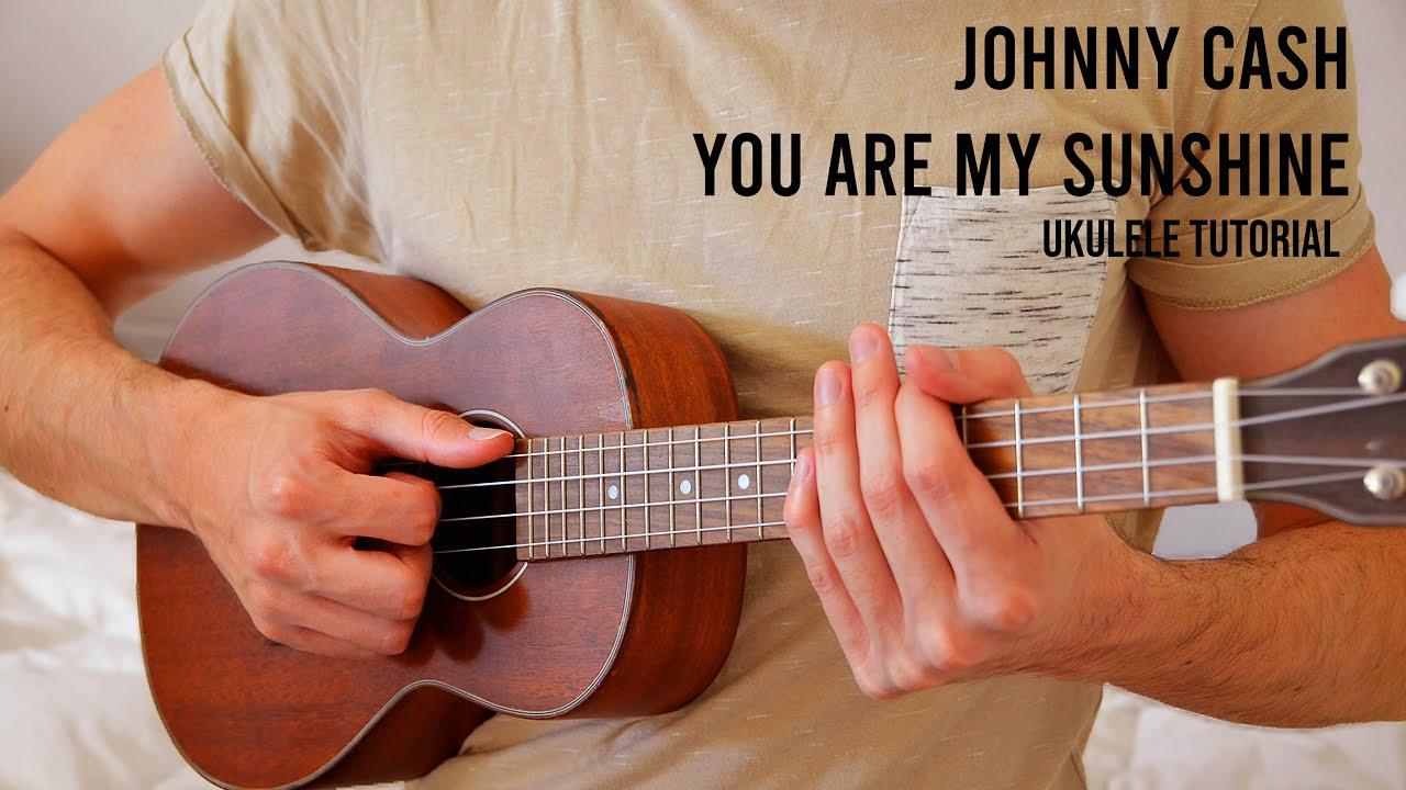 You Are My Sunshine EASY Ukulele Tutorial With Chords / Lyrics