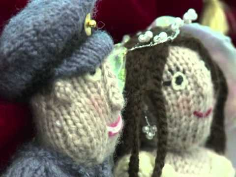 Woolly wedding: knitting group spins a royal yarn
