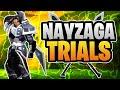 Dauntless - Shockjaw Nayzaga Trials - Sword Gameplay - 1:36