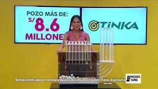 Sorteo Tinka - Domingo 18 de marzo de 2018