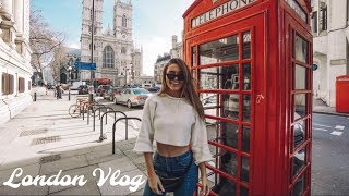 TAKING INSTAGRAM PHOTOS IN LONDON FOR 3 DAYS | VLOG!