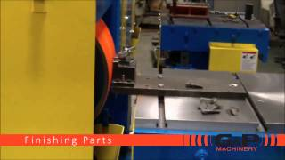 G&P Machinery – PG-60D-SS Dual Side Power Grind w/ Rise and Fall Tables