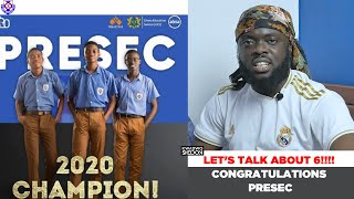 Congratulations To Presec! Let's Talk About 6!!!!!!