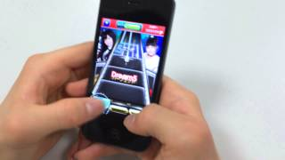 Dream5 SHAKEアプリ」は、お気に入りの楽曲に合わせて上 から落ちてくる...