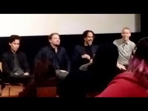 THE REVENANT Q&A with Leonardo DiCaprio, Alejandro G. Inarri