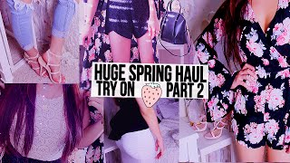 Spring Fashion Haul & Try On {Part 2} TOBI, OhMyLoveLondon, Designer Intimates + more!