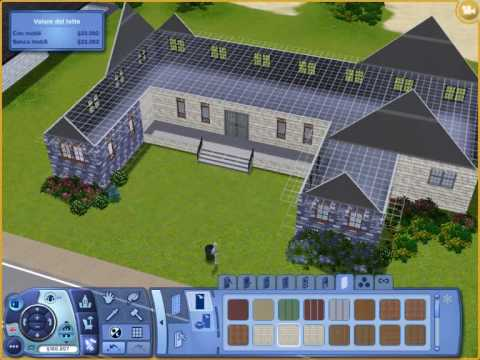 the sims 3 come costruire una casa how to build a house