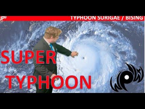 Super Typhoon Bising / Surigae Explodes in Intensity Near the Philippines