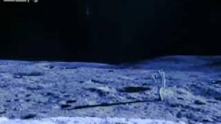 機密照片曝光,月球上的UFO和外星人