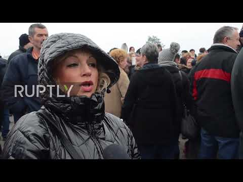 Bosnia and Herzegovina: Former NATO/EUFOR workers rally for pensions, health insurance