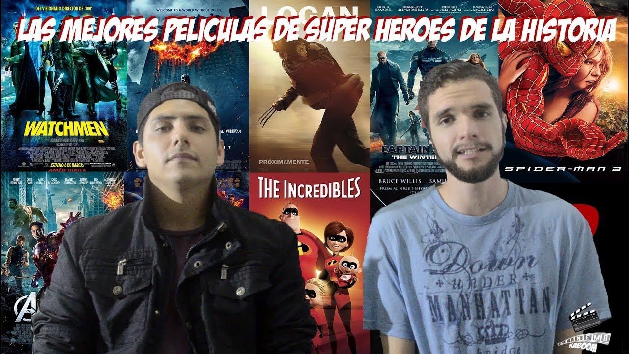 Ranking Top 5 Mejores Peliculas De Superheroes De La Historia Youtube