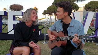 Tamta (Cyprus 🇨🇾) & Lake Malawi (Czech Republic 🇨🇿) - Shallow (Live Unplugged)