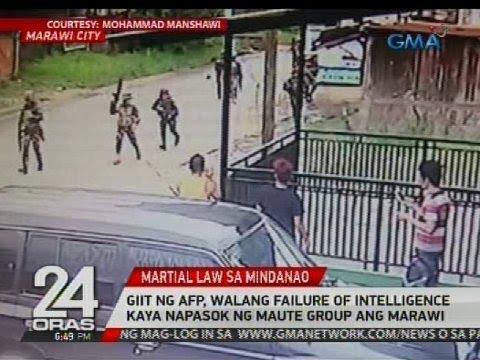 Giit ng AFP, walang failure of intelligence kaya napasok ng Maute group ang Marawi