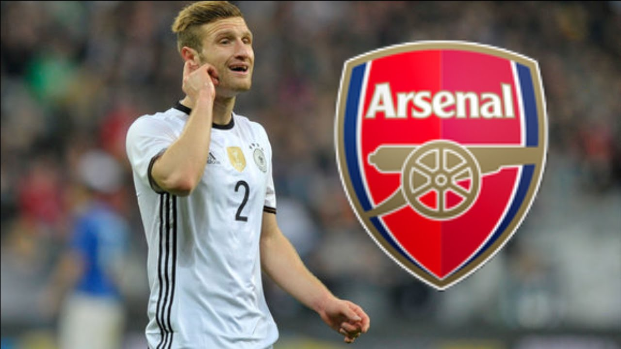Image result for Shkodran Mustafi with arsenal jersey