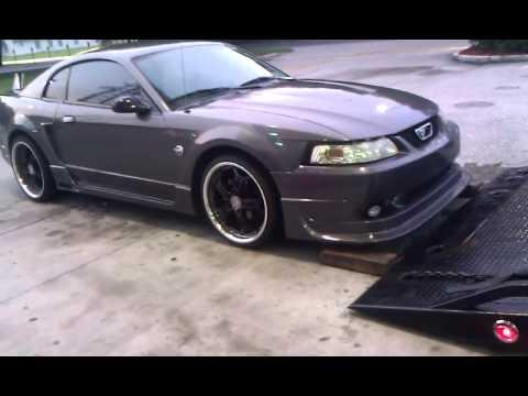 Mustang Gt Premium >> Turbocharged Mustang (Cobra R Body Kit) - YouTube