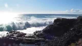 Keana Point Oahu Hawaii Blowhole