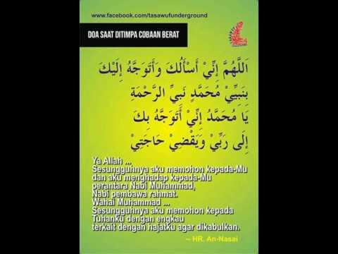 Inilah Doa Tawassul yang diajarkan oleh Rosululloh Sholollohu alayhiwasallam