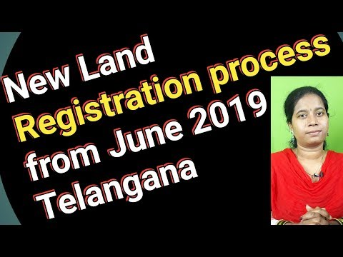 New Land Registration process from June 2019 in Telangana Dharani web site in telugu sowjanya