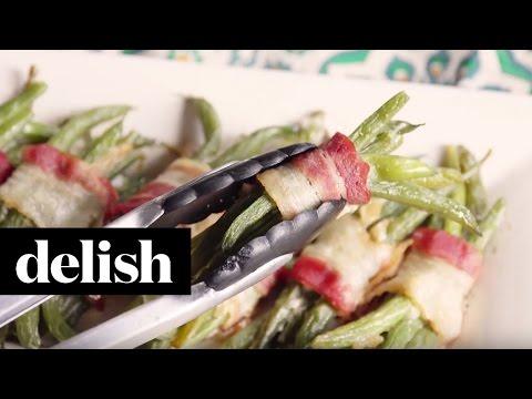 Green Bean Bacon Bundles  Delish