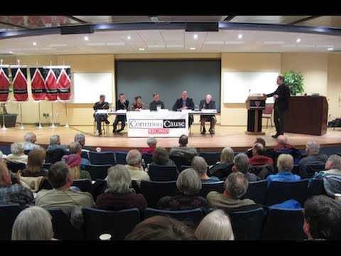 Common Cause in WI Public Forum in Madison on 2/17/2014 - Part 4