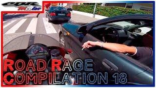 ☠ Road Rage Compilation 18 - STUPID DRIVERS!!!