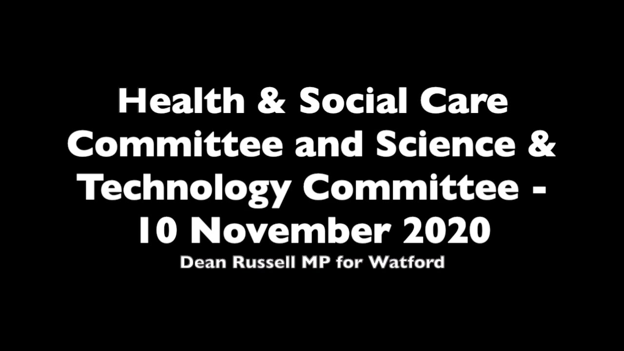 Health & Social Care Committee: Dean asks Baroness Harding about the performance of Test and Trace