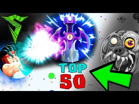 Agar.io TOP 50 PLAYS // Insane Agario MOMENTS