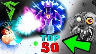 Agar.io TOP 50 PLAYS // Insane Agario MOMENTS
