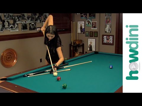 Billiards Tips How To Jump Pool Ball With Jeanette Lee