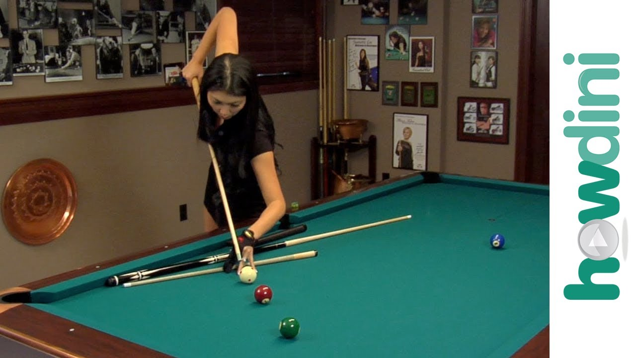 Billiards tips  How to jump a pool ball with Jeanette Lee - YouTube f6d9f6c57
