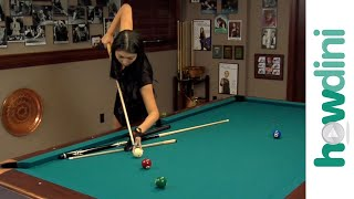 Billiards Tips: How To Jump A Pool Ball With Jeanette Lee