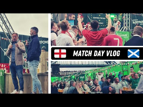 Paddy Power fan zone vlog | England vs Scotland