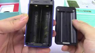 Unboxing GTRS VBOY 222W TC Box Mod(SX520 Powered By YiHi)