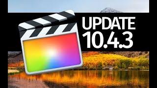 How to Update FCPX version 10.4.3 - Final Cut Pro X - Mac
