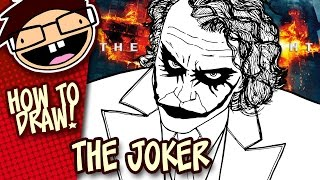 How to Draw THE JOKER (The Dark Knight) | Narrated Easy Step-by-Step Tutorial
