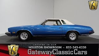 1973 Buick Regal Stage 1 Tribute Gateway Classic Cars #854 Houston Showroom