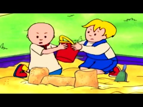 Funny Animated Cartoon   Caillou Hates To Share   WATCH CARTOON ONLINE   Cartoon For Children
