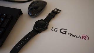 LG G Watch R review en español