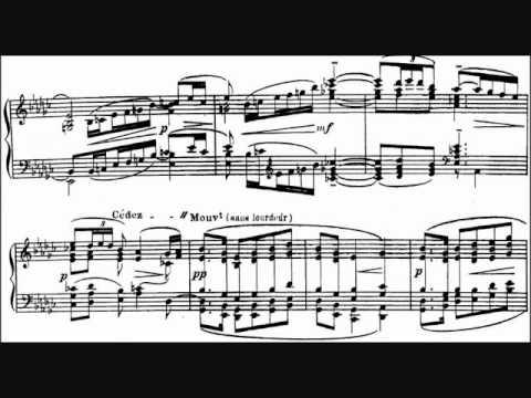 The Girl With The Flaxen Hair (La Fille aux Cheveux de Lin) ~ Claude Debussy