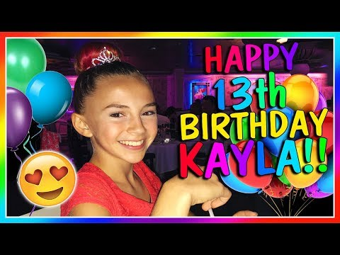 KAYLA'S 13TH BIRTHDAY | We Are The Davises