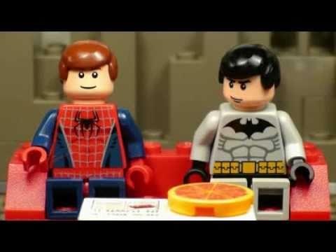 The Lego Batman, Spider-Man, Superman Movie