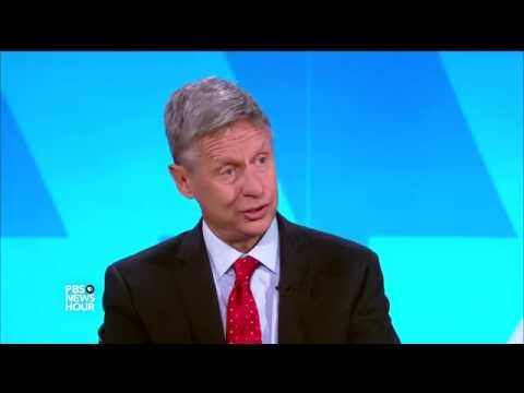 Gary Johnson on the rules keeping him off the debate stage