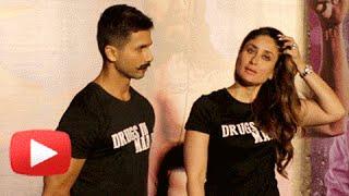 Kareena Kapoor-Shahid Kapoor BEST MOMENTS | UDTA PUNJAB