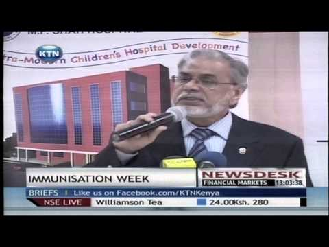 World Health Organization revels Immunization Week